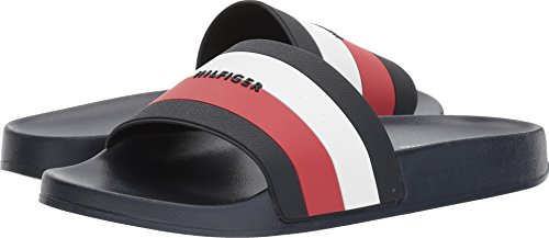 Tommy Hilfiger Women's DRIA Flip-Flop, Signature, 8 M US from Tommy Hilfiger