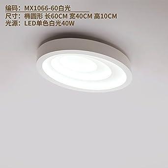 Cttsb Post Moderne, Einfache Wohnzimmer Leuchtet Warm Oval Style Master Schlafzimmer  Leuchten Led Ultra