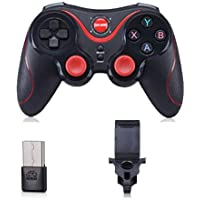 S5 Gamepad Wireless Bluetooth Gaming Controller Remote Control for Android IOS Smartphone