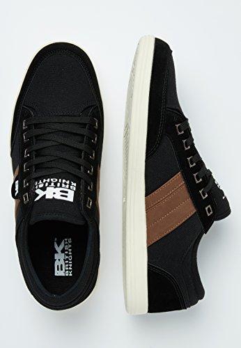 British Knights Herren Schuhe/Sneaker KUNZO Schwarz/Braun