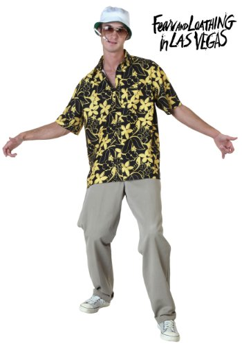 Raoul Duke Costume (Mens Fear and Loathing in Las Vegas Raoul Duke Costume Large)