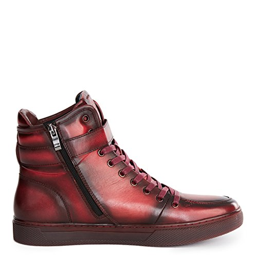 Fashion High Men's Sullivan Sneaker Ruby Top JUMP NEWYORK XwvqxnHwp