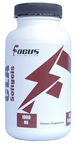 CLA Softgels, 120 gélules, 1000 mg, forte puissance, Supplément de perte de poids naturel (acide conjugué de palmitoléiques)