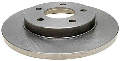 ACDelco 18A1478A Advantage Non-Coated Rear Disc Brake Rotor