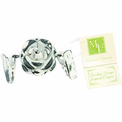 (Melissa Frances Double Clip Decorative Hangers, Flower)
