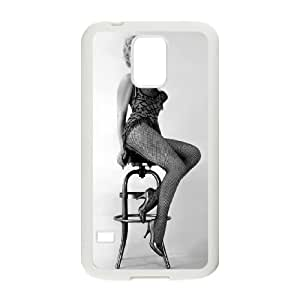 Samsung Galaxy S5 Cell Phone Case White Marilyn Monroe ECS Phone Case Sports Hard