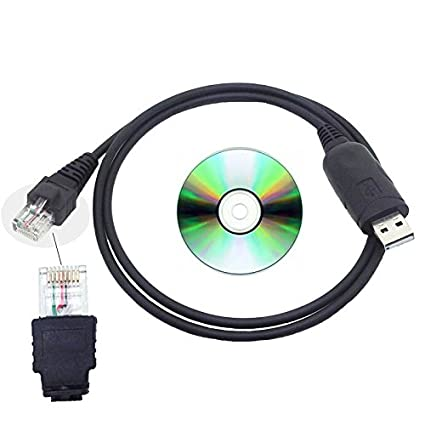Niewiarygodnie Amazon.com: USB Frequency Programming Data Cable for Motorola DS42