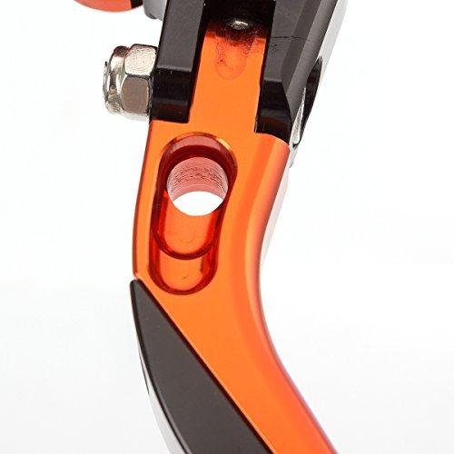 Leviers en aluminium CNC pliants Freins dembrayage Racing de Fxcnc extensibles et r/églables pour Ducati