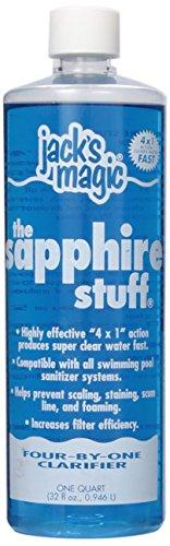 Jack's Magic Sapphire Stuff Pool Water Clarifier, 32 - Clarifier Water Out