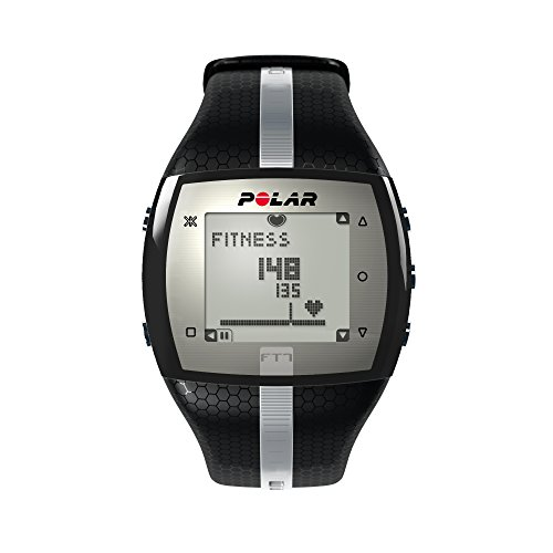 Polar FT7 Heart Rate Monitor, Black/Silver ()