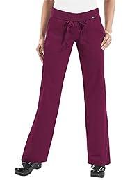 KOI Classics 713 Women's Morgan Scrub Pant Merlot S