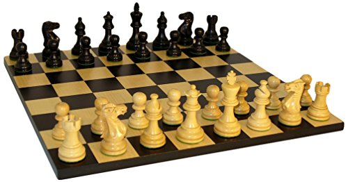 American Emperor Basic Chess Set, Black