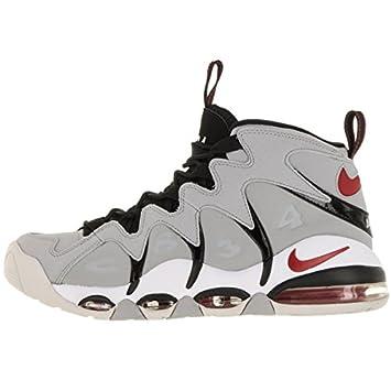 Nike AIR MAX CB34 Basketball Shoes Wolf Grey Varsity RED Neutral Grey 414243 003