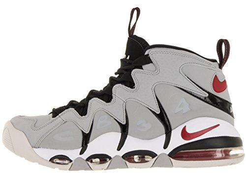 Zapatillas De Baloncesto Nike Hombres Air Max Cb34 Wolf Gris / Varsity Red / Ntrl Gry / White 8 Hombres Ee. Uu.