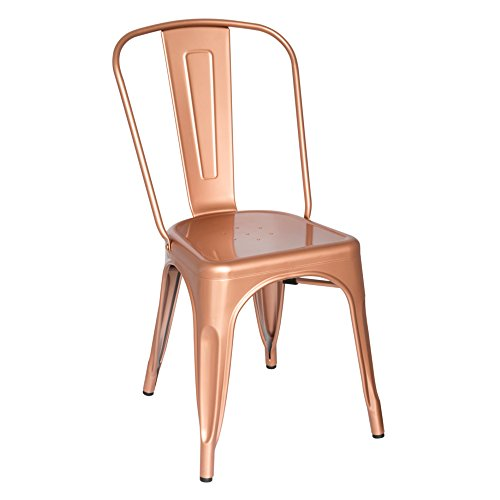 Fine Mod Imports Talix Chair, Copper/Galvanized Steel/Contemporary/Modern by Fine Mod Imports