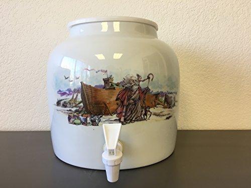 Ceramic Water Dispenser- Noah's Ark