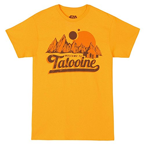(T-Shirt - Star Wars - New Tatooine,XX-Large,Yellow)