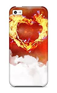 9499943K55359005 New Style One Love Heart Premium Tpu Cover Case For ipod touch4