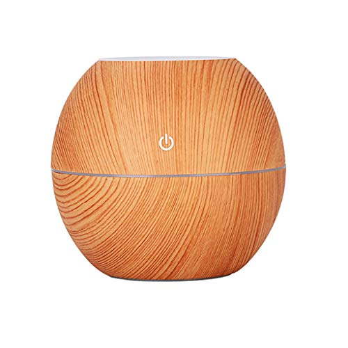 Pangxiannv US LED Ultrasonic Aroma Humidifier Essential Oil Diffuser Aromatherapy Purifier Home Ionizer Humidifiers for Bedroom Cool Mist Humidifier with Intelligent Constant Humidity