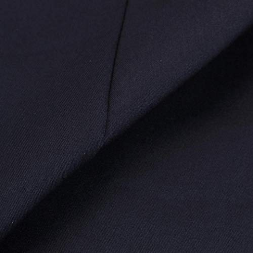 Manga Modernas Fit Transición Cazadoras Slim Elegantes Navy Invierno Gabardina Mujer Solapa De Abrigo Caliente Botonadura Abrigos Largas Otoño Moda Exteriores Casuales Largo Prendas zqxSZwn5