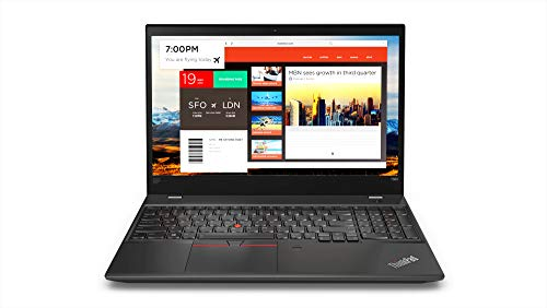 "2019 Newest Lenovo Thinkpad T580 15.6"" IPS Full HD FHD (1920x1080) Business Laptop (Intel Quad-Core i7-8650U, 32GB DDR4 RAM, 1TB NVMe PCIe M.2 SSD, NVIDIA MX150) Thunderbolt 3, Type-C, Windows 10 Pro"