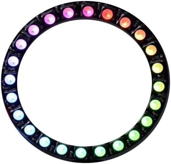 ARCELI 24 Bits WS2812 5050 RGB LED Ring Lamp Light Integrated Drivers .