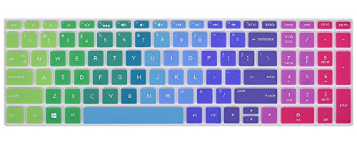 Colorful Keyboard Cover for 2018 HP ENVY x360 2-in-1 15.6