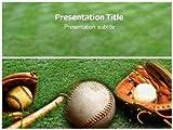 Baseball Powerpoint Template- Base Ball