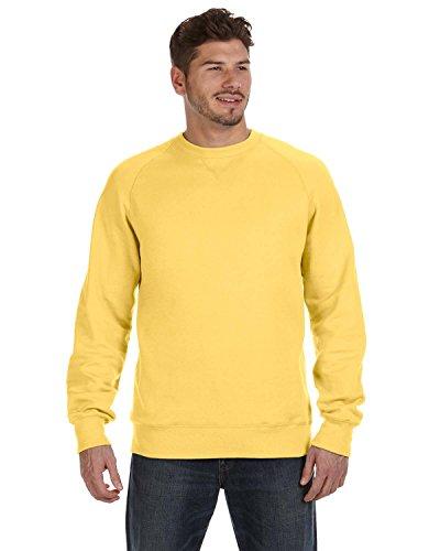Lightweight Crewneck Sweatshirt (Hanes Mens Nano Premium Lightweight Crewneck Sweatshirt, Vintage Gold, L)