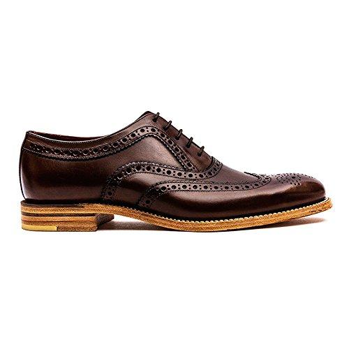 Loake - Zapatos de cordones para hombre Marrón - marrón oscuro