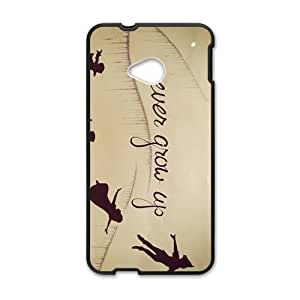 Warm-Dog Never Grow Up Fashion Comstom Plastic case cover For HTC One M7