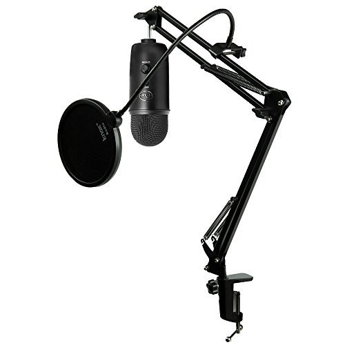 Blue Microphones Blackout Microphone Studio product image