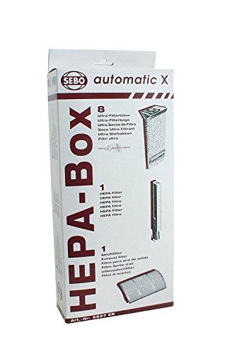 SEBO 5827ER HEPA Service Box for