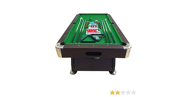 mesa de billar juegos de billar pool 8 ft carambola Medición de 220 x 110 cm Nuevo Envio Gratis embalado disponible en verde: Amazon.es: Deportes y aire libre