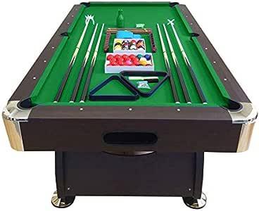 GRAFICA MA.RO SRL Mesa de Billar Juegos de Billar Pool 8 ft Modelo Vintage Verde Carambola Medición de 220 x 110 cm Embalado: Amazon.es: Juguetes y juegos