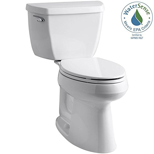 Toilet Complete Solution (Highline Classic The Complete Solution 2-piece 1.28 GPF Elongated Toilet in White)