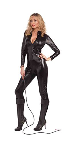 [Sleek and Sexy Body Suit (Large)] (Dominatrix Halloween Costumes)