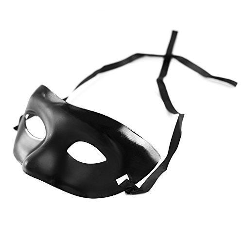 Super Z Outlet Mardi Gras Black Opera Party Mask, Costume Accessory, Theater (Where Buy Masks To Masquerade)