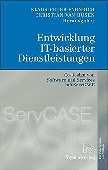 Book Entwicklung IT-basierter Dienstleistungen