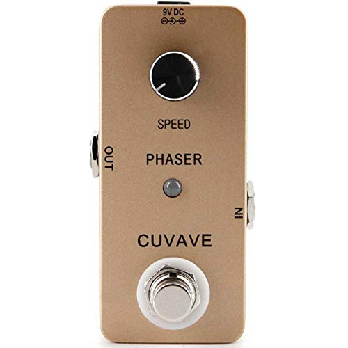 - CUVAVE Guitar Effect Pedal Analog Phase Effect Pedal True Bypass Guitar Monoblock Effect for Music Guitar Lover