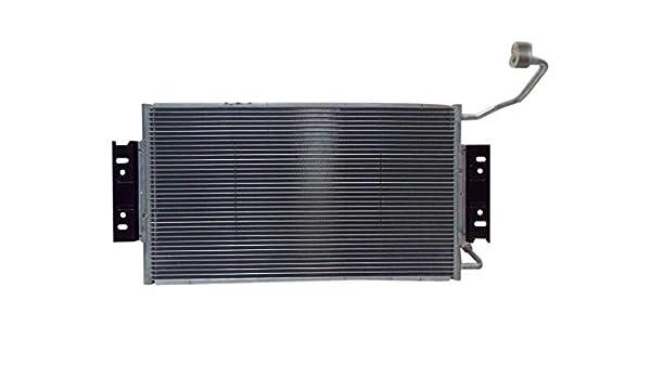 Sunbelt A//C AC Condenser For Pontiac Grand Am Oldsmobile Alero 4787 Drop in Fitment