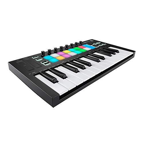 Novation Launchkey Mini MK3 25 Mini-Key MIDI Keyboard with Knox Gear 4-Port USB 3.0 Hub (2 Items)