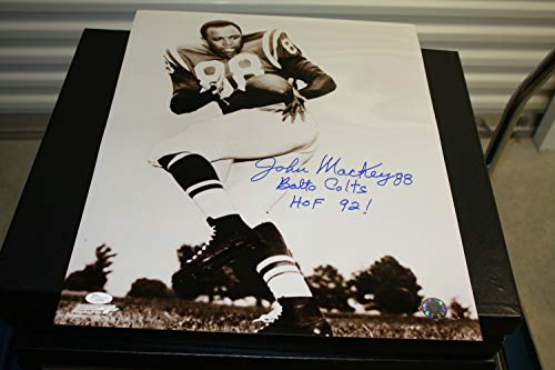 Baltimore Colts John Mackey#88 Autographed Signed 16x20 Photo HOF 1988 Memorabilia - JSA Authentic