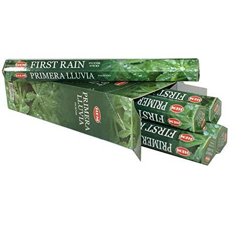 Hem First Rain 100 Incense Sticks (5 x 20 stick packs)