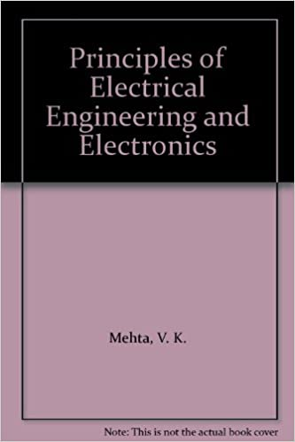 principles of electrical engineering and electronics v k mehta