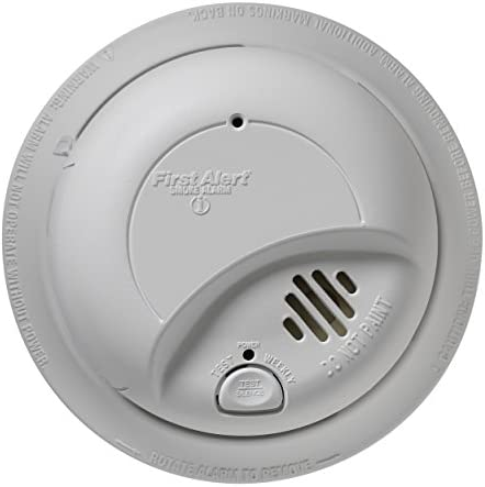 First Alert Smoke Detector Alarm Hardwired with Backup Battery, 6-Pack, BRK9120b