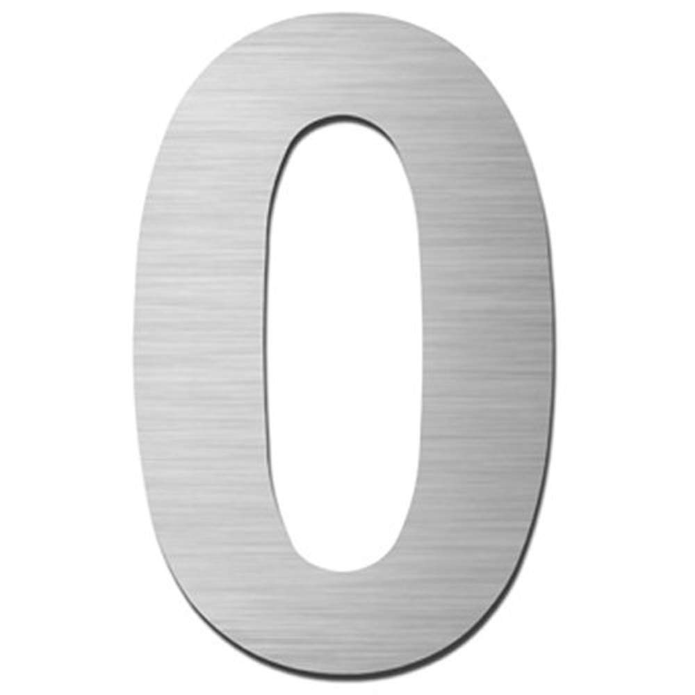 Stainless Steel House Number Adhesive Height 7.5cm House Number Design Door Number Extiff France