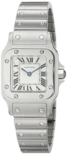 Cartier Women's W20056D6 Santos Stainless Steel Casual Watch