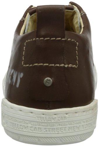 Yellow Cab REMOTE M - Zapatos de caña baja de cuero hombre gris - Grau (Offwhite)