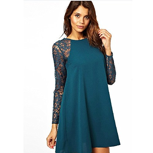 Piggy2gether Blue Long Sleeve Lace Dress Party Dress L Buy Online In Azerbaijan Women S Fashion Piggy2gether Products In Azerbaijan See Prices Reviews And Free Delivery Over 100 Desertcart